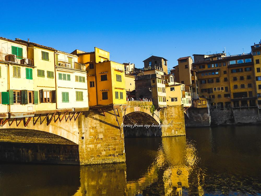 Ponte Vecchio, Must visit places in Florence, Best sunset views in Florence, Florence best views, live music in Florence, Where to eat in Florence, Where to shop in Florence, Arno River view