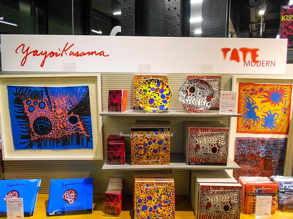 Tate modern London, Yayoi Kusama, Best museums in London, modern art museum London, contemporary art museum London
