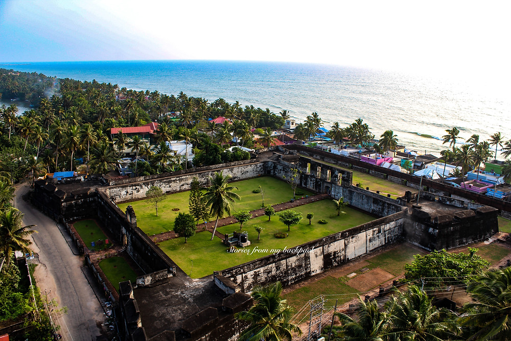anjengo lighthouse, anchuthengu lighthouse, anjengo lighthouse view, varkala lighthouse, anjengo fort timing