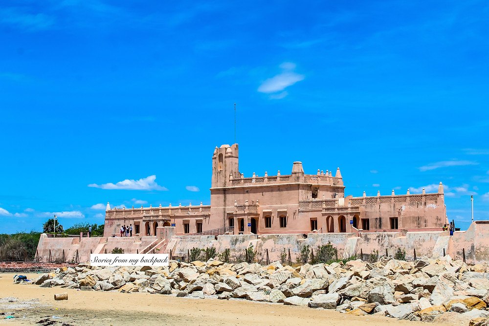 Fort dansborg, Danish fort, Tranquebar, Tharangambadi, land of the singing waves, danish architecture in India, colonial architecture, heritage town, heritage buildings