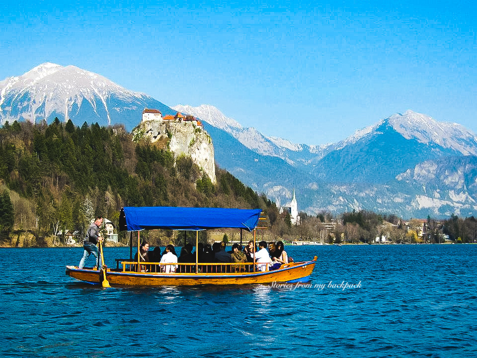Pletna bled, bled lake, bled castle, things to do in bled