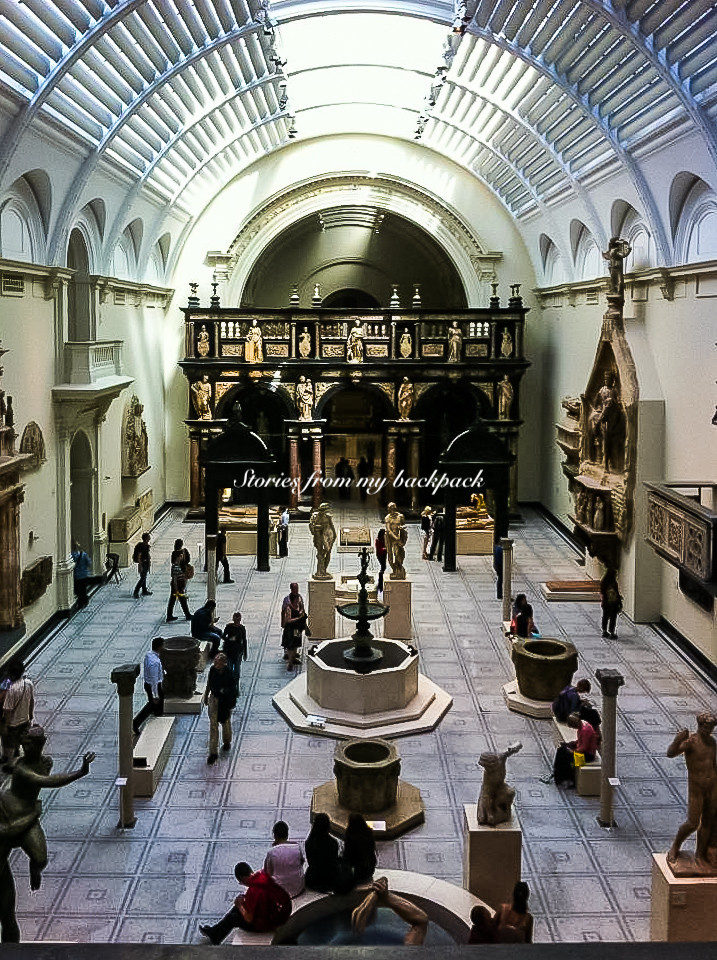 Victoria and Albert museum, V&A, best museums in London, history museum in London, kid friendly museum in London, things to do in London