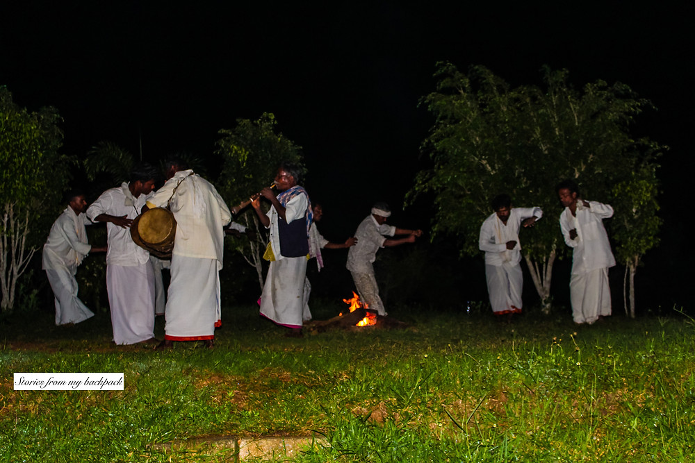 tribal dance, tribes of Karnataka, Indian tribe, kabini, nagarhole national park, Karnataka tourism, things to do in Karnataka, bullock cart