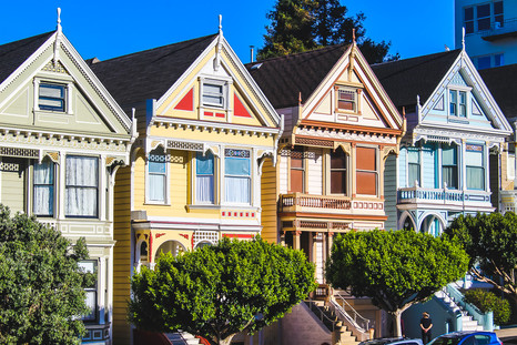 Painted Ladies- San Francisco