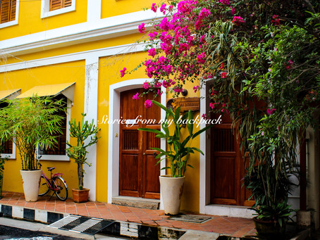 Weekend getaway to Pondicherry