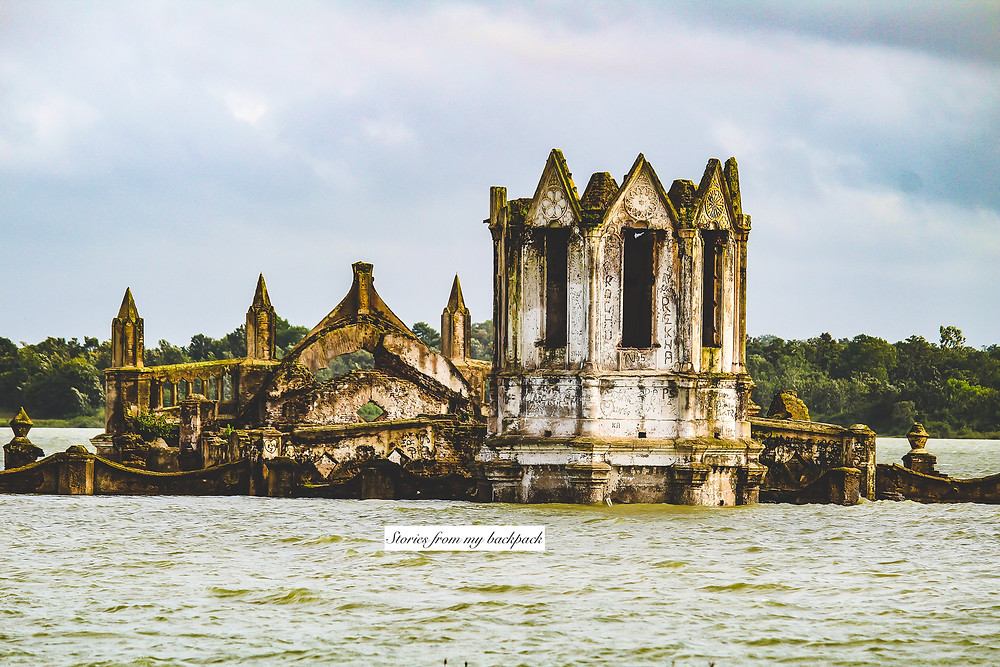 Shettihalli, Hassan things to do, French architecture, gothic architecture, French missionaries in India, churches in Karnataka, the floating church, the sunken church, the haunted church, holy rosary church, Shettihalli church