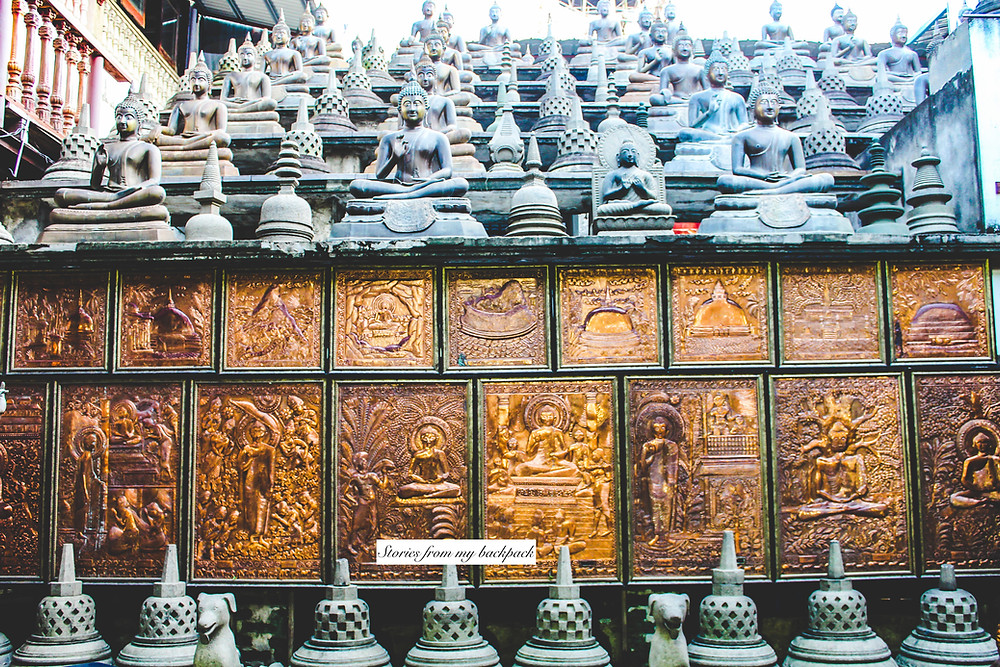 buddhist temple, colombo, sights to see in colombo, famous buddhist temple in colombo, Sri Lanka things to see