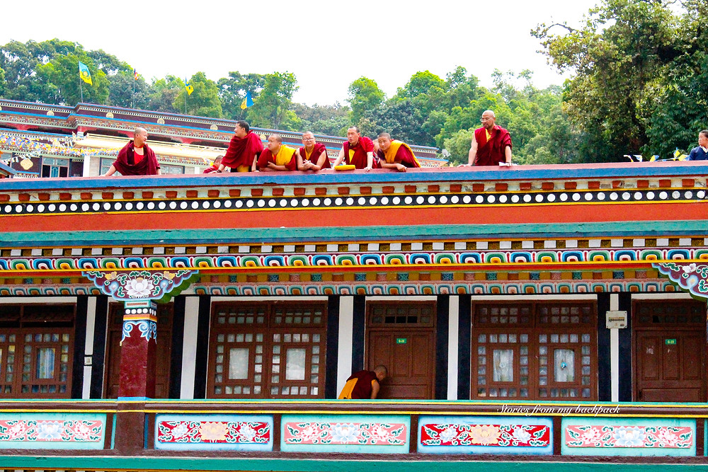 ranka monastery, buddhist monks, buddhist monastery, sikkim monastery, ranka monastery timings, accommodation at Ranka monastery