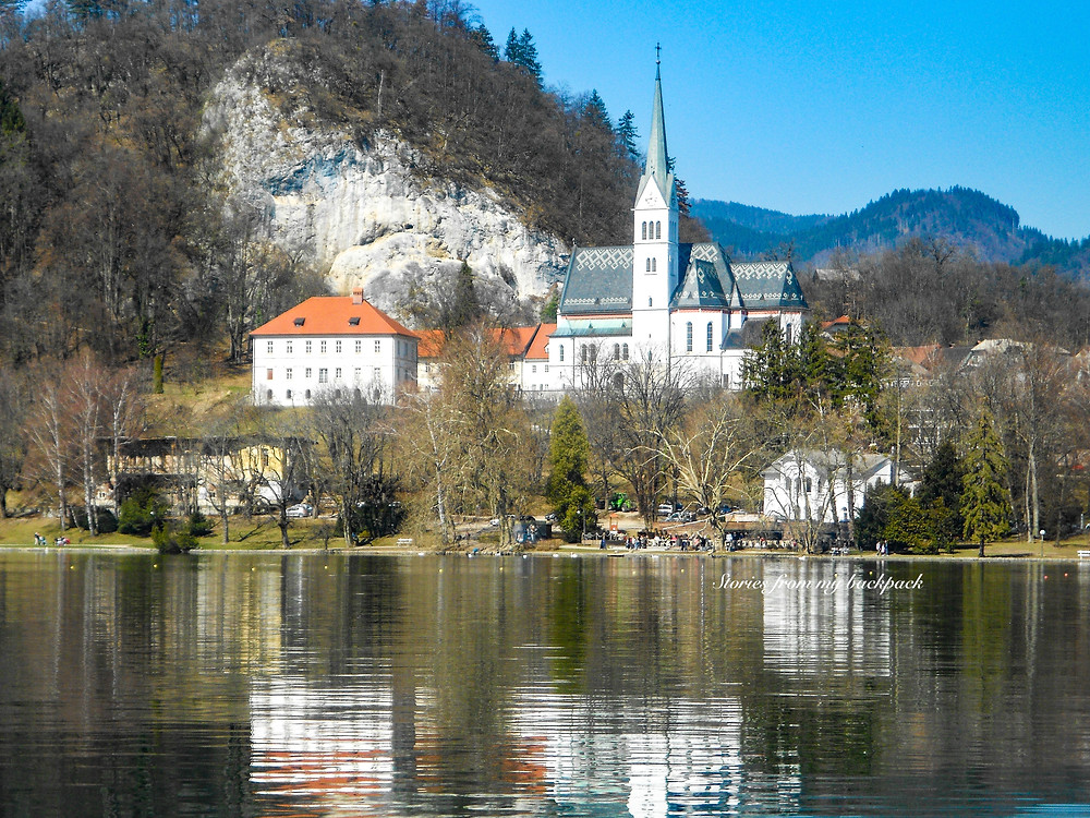 St. Martin's Paris, Bled Lake, Churches in Bled, history of bled, bled island, bled lake activities