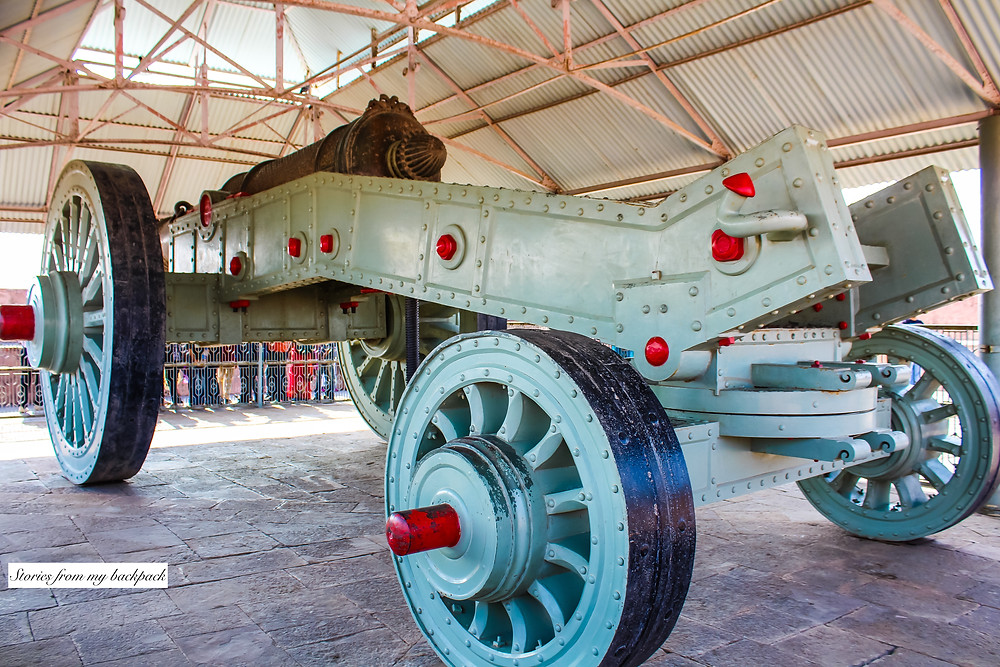 largest cannon on wheels, Jaigarh Fort, Rajasthan, Rajastan, Jaipur things to do, forts in Jaipur