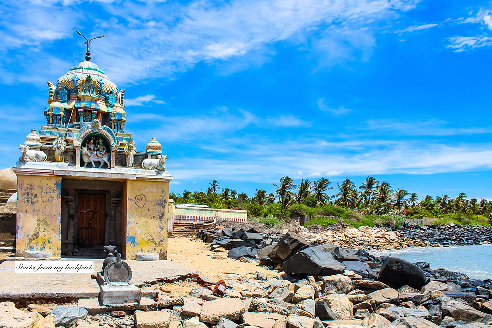 Tranquebar, Tharangambadi, land of the singing waves, danish architecture in India, colonial architecture, heritage town, heritage buildings, ancient temple, Tamil Nadu tourism, shiva temple, massilamani Nathar temple
