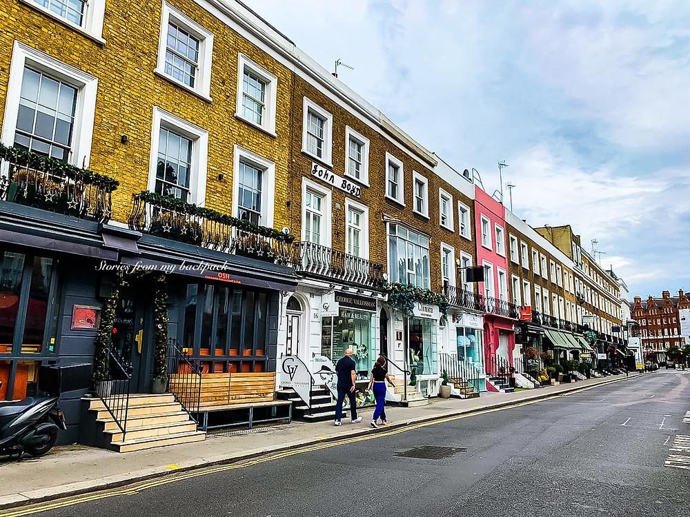 St James' Park London, Best neighbourhoods in London, Pretty neighbourhoods in London, Beautiful streets in London, soho, knightsbridge