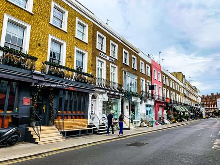 Most beautiful neighbourhoods of London