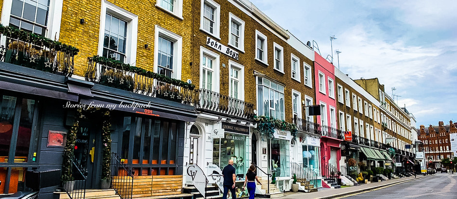 Most beautiful neighbourhoods of London