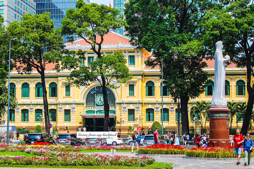 Saigon Post Office, Saigon Notre Dame, Cathedral in ho Chi Minh city, things to do in Ho Chi Minh city, top things to see in ho Chi Minh city