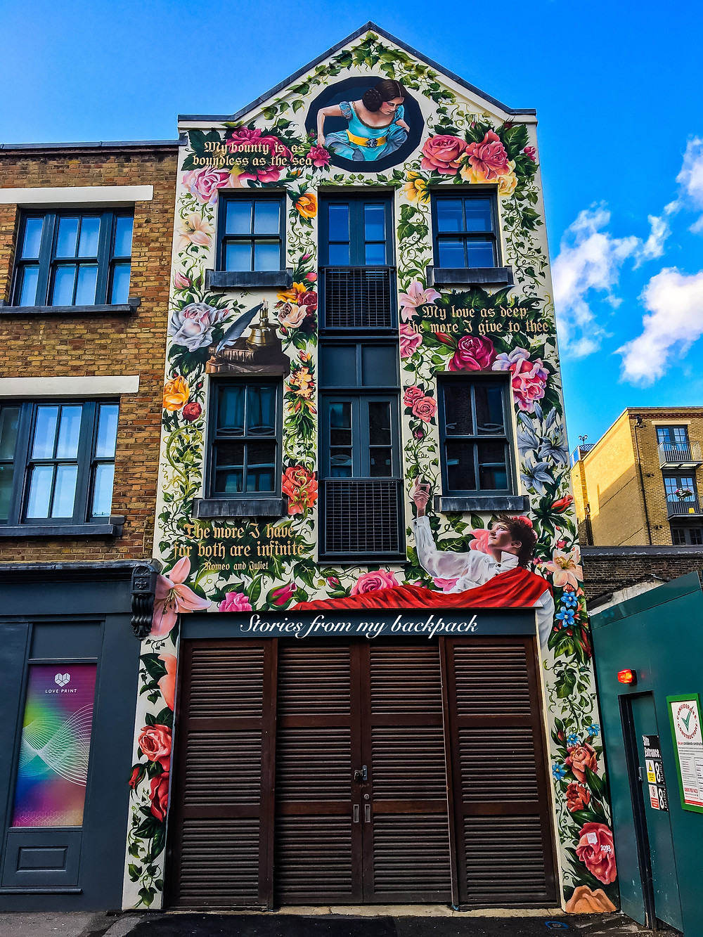 Shoreditch, brick lane, where to eat in London, best food in London, London flower market, Columbia flower market