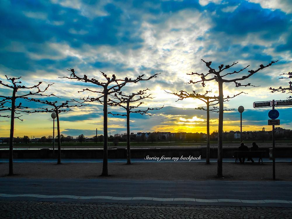 Rhine promenade Dusseldorf, Dusseldorf sightseeing, things to o in Dusseldorf, best towns in Germany to visit, must visit in Germany