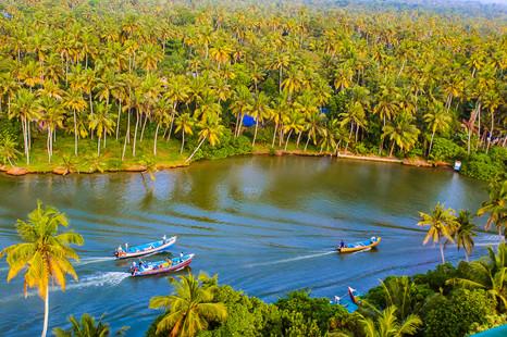 View from Anjengo Lighthouse, Kerala, India