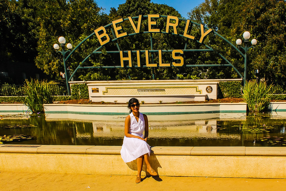Beverly Hills Sign, Rodeo Drive, Hollywood, Celebrity homes, spot Hollywood celebrities