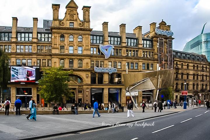 Manchester City centre, Manchester shopping, Manchester arndale, Manchester Printworks, Manchester triangle