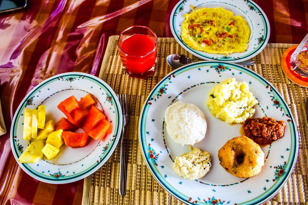 The Bangala, The Bangala table,  Chettinad food, Chettinad things to do, Chettinad restaurants, Breakfast in Chettinad