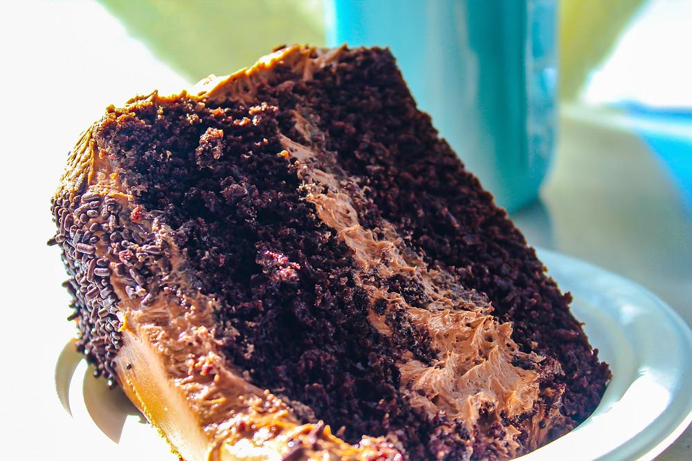 Best desserts in LA, best food in LA, best chocolate cake recipe, magnolia bakery