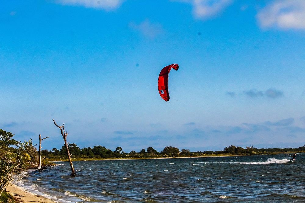 Kite surfing, Assateague Island, water sports, kayaking, canoeing, Virginia things to do, Maryland things to do
