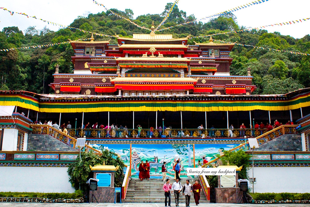 ranka monastery, Ramtek monastery, buddhist monastery in Gangtok, famous monastery in Gangtok, best view in Gangtok, sikkim famous monastery, how to reach Ranka monastery