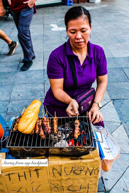 Street food in Hanoi, Hanoi things to eat, best food in Hanoi, best food in Vietnam, what to eat in Vietnam, best cafes in Hanoi, sightseeing in Hanoi, Hanoi food tour, xo bike tour