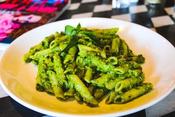 The best Penne Pesto with Pecorino