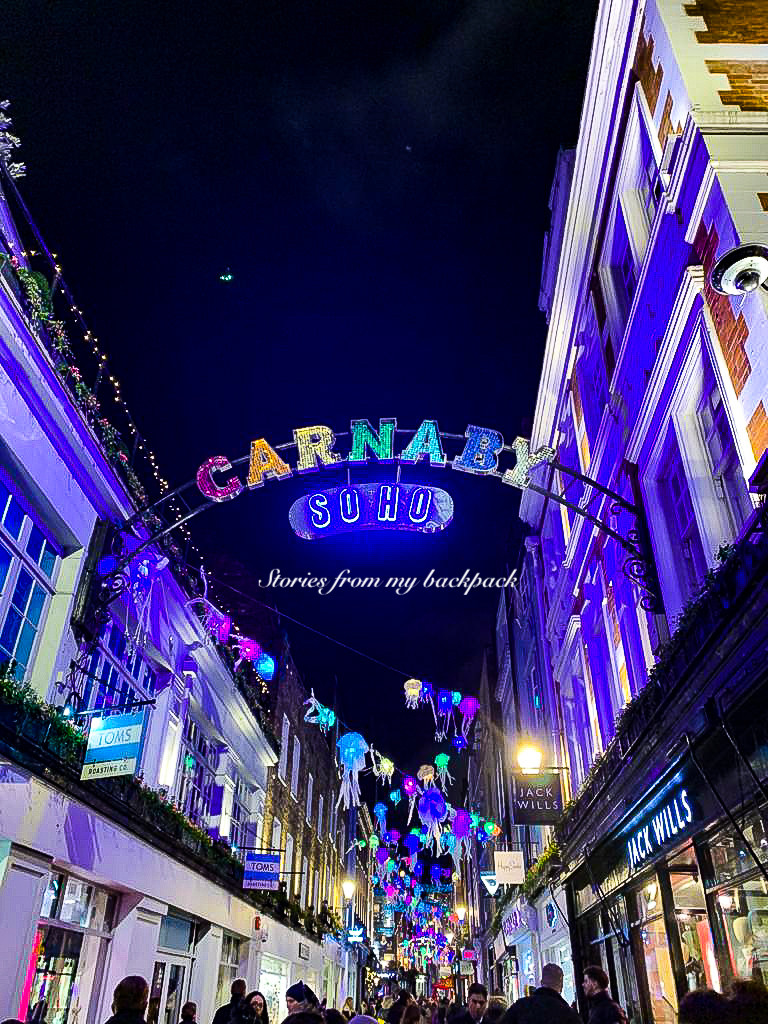 Carnaby Soho, soho things to do, shopping in London, best restaurants in London, food markets in London, offbeat things to do in London