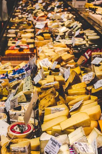 Cheeses galore at V. Sattui Winery
