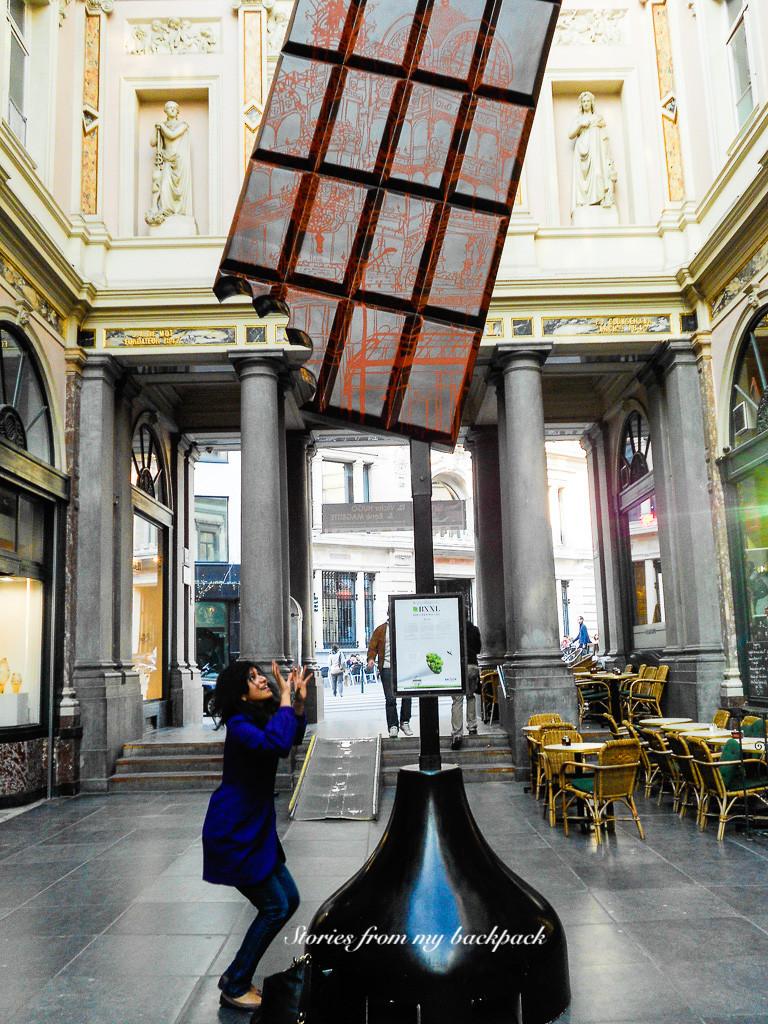 Royal gallery of Saint Hubert, Belgian chocolate, Belgian waffle, grand place Brussels, best beer in Brussels