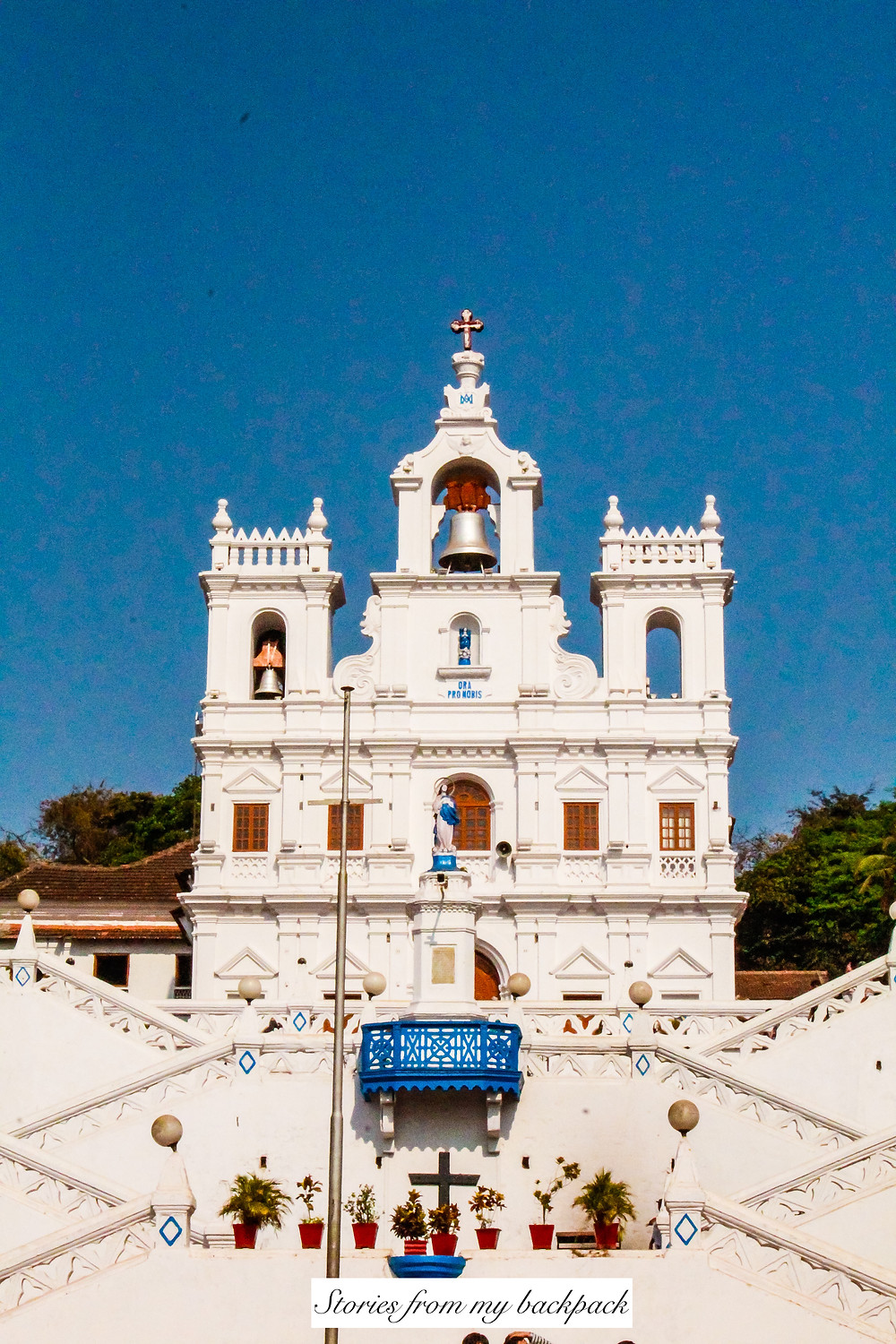 Our Lady of Immaculate conception church, panjim, goa, old goa, portuguese church, Portuguese architecture
