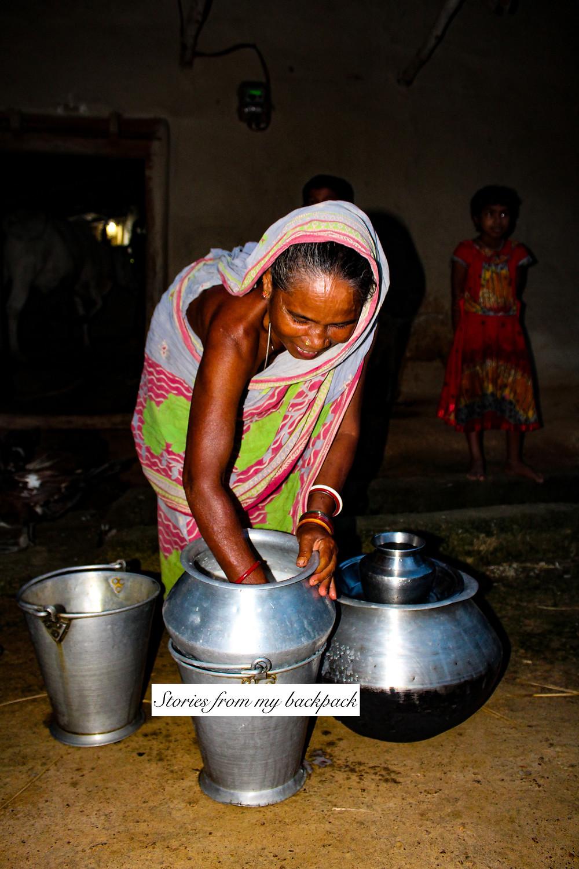 Baripada, santal tribe, santals, tribes of india, Odisha tribes, home brewed alcohol