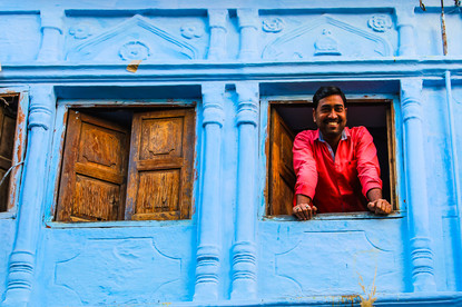 Blue City Jodhpur, Rajastan