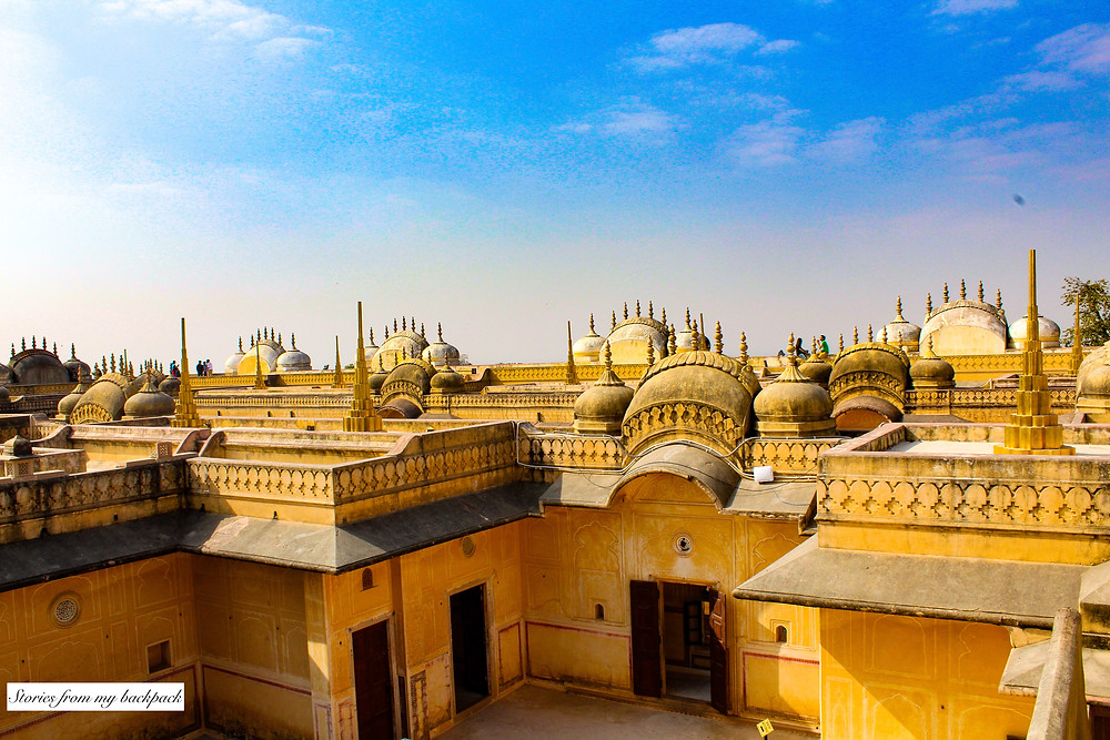 Nahargarh fort, Jaipur, things to do in Jaipur, Rajasthan, rooftop view, Indian palace, forts of Rajasthan