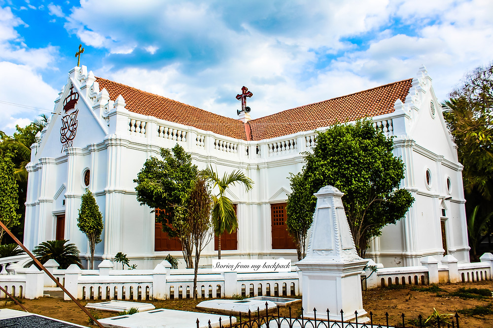 Tranquebar, Tharangambadi, land of the singing waves, danish architecture in India, colonial architecture, heritage town, heritage buildings, ancient temple, Tamil Nadu tourism, protestant church, new Jerusalem church