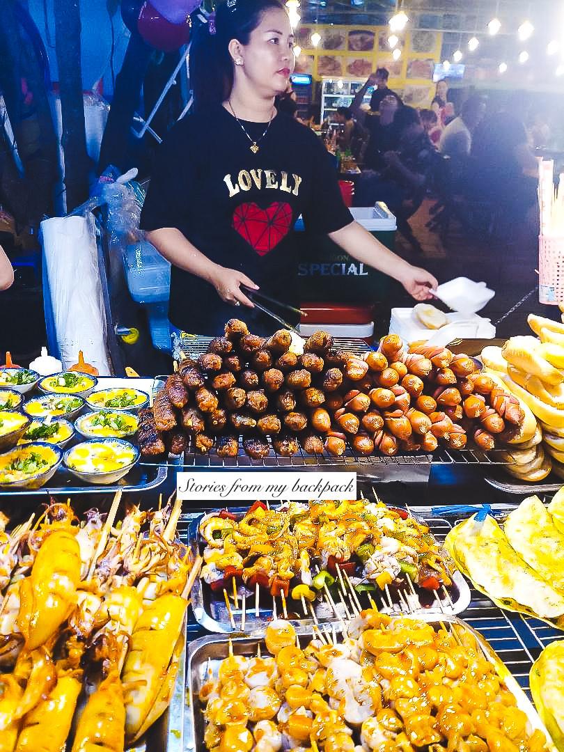 Phu Quoc night market, street food in Vietnam, best food in Vietnam, where to eat in phu Quoc, restaurants in phu Quoc, phu Quoc night market timings