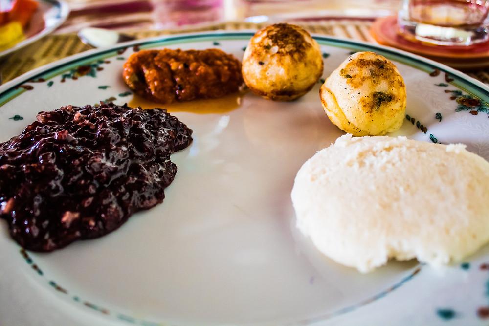 The Bangala, Chettinad food, Chettinad things to do, The Bangala table, Chettinad breakfast