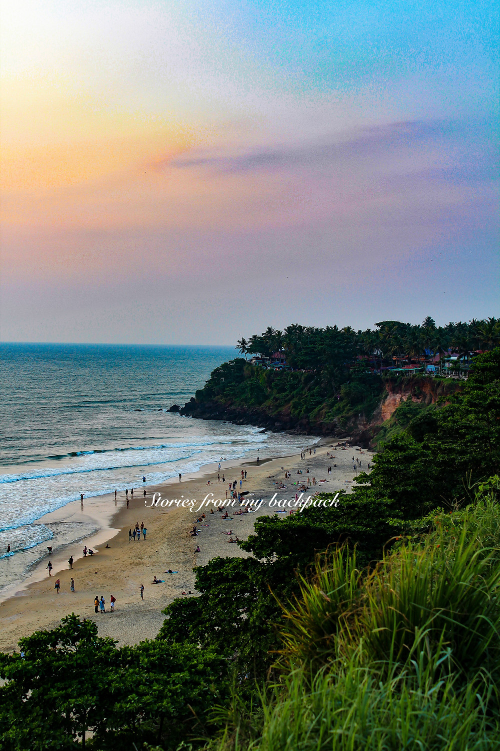 varkala cliff, varkala helipad, varkala things to do, varkala yoga, varkala shopping, varkala restaurants