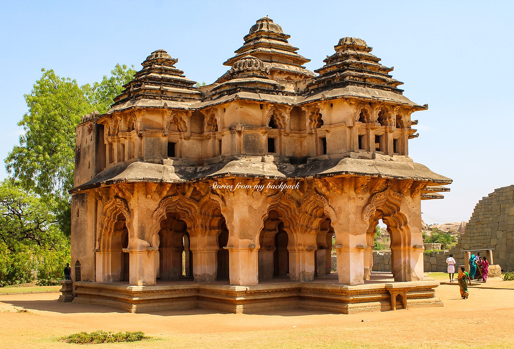 Lotus Mahal Hampi, hampi, musical pillars of Hampi, best temples in Hampi, Hampi tour, things to do in Hampi, Vijaya Vittala temple Hampi