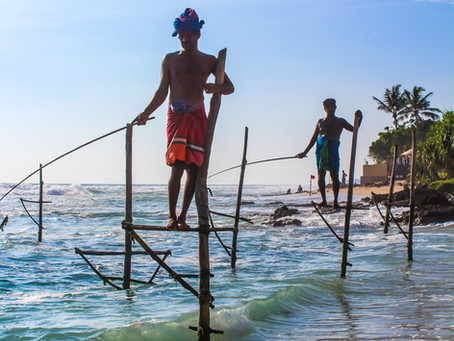 Koggala-Where to find the stilt fishermen of Sri Lanka
