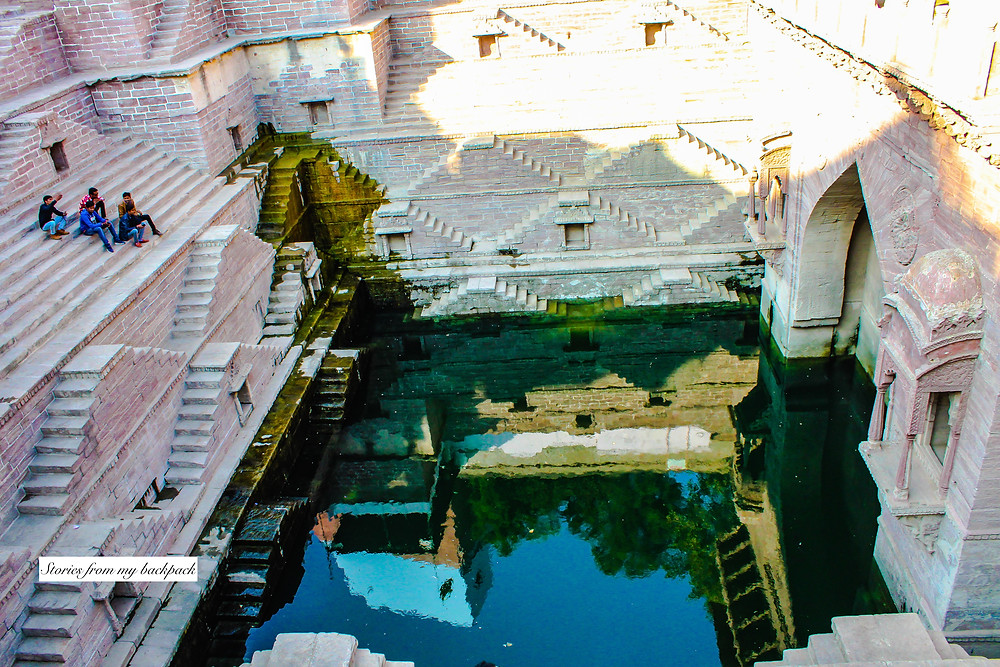 stepwell in rajasthan, rajastan stepwell, famous stepwell, instagram stepwell, jodhpur things to do, places to visit in jodhpur, blue city things to do