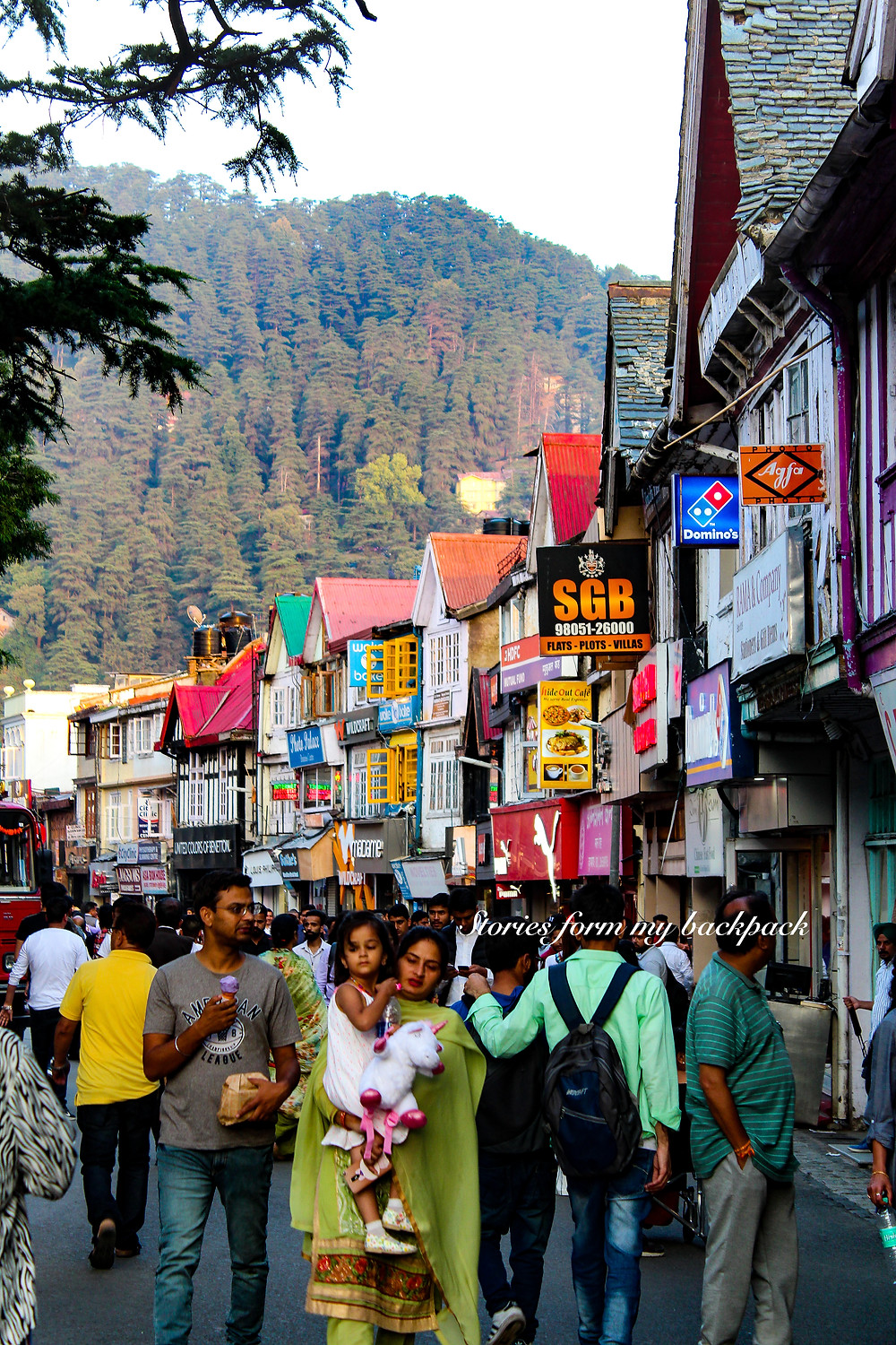 Mall Road Shimla, Shimla things to do, Shimla shopping, Manali to shimla distance