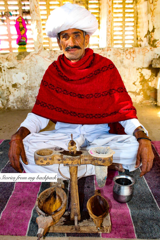 opium ceremony, Rajasthan opium ceremony, jodhpur things to do, bishnoi village tour