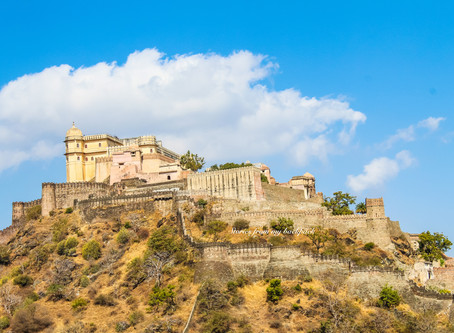 Day trip from Udaipur- Ranakpur Jain Temple & Kumbalgarh Fort