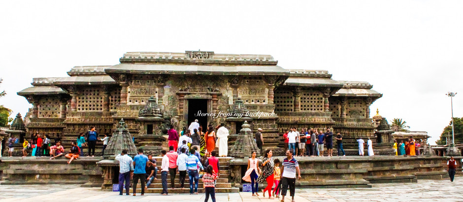 On the Hoysala Temple Trail