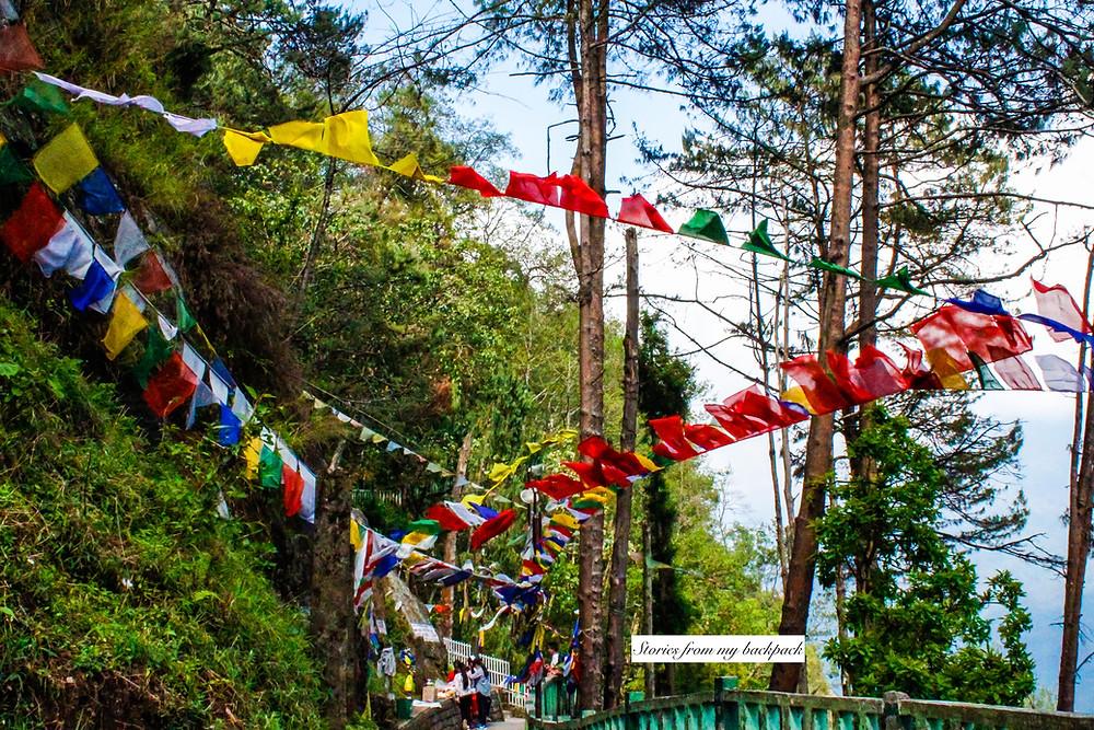 buddhist prayer flags, accommodation in Gangtok, where to eat in Gangtok, best restaurants in Gangtok, Gangtok tour guide, Gangtok top attractions, sikkim tour