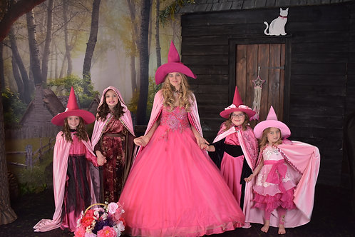 Deluxe Good Witch Photo Shoot Package